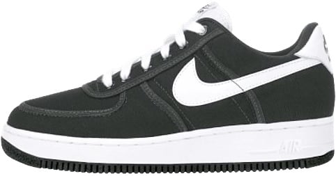 Nike Air Force 1 (Ones) 1994 Low Black White Black