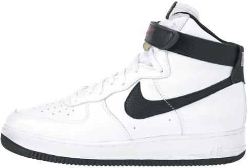 Nike Air Force 1 (Ones) 1995 High White / Black – Varsity Red