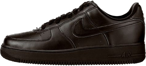 air force one nike black