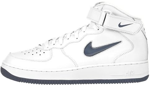 Nike Air Force 1 (Ones) 1996 Mid SC Off White / Midnight Navy