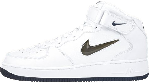 new arrival 16621 653ce nike air force 1 ones 1997 mid cl sc white metallic silver