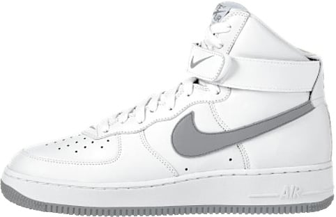 Nike Air Force 1 (Ones) 1997 High White / Union Grey
