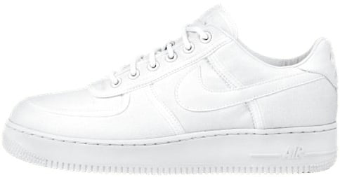 Nike Air Force 1 (Ones) 1997 Low Canvas White / White