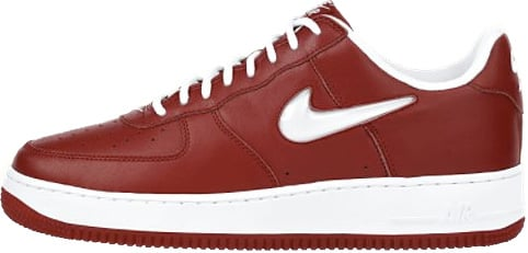 Nike Air Force 1 (Ones) 1997 Low CL Varsity Red / White