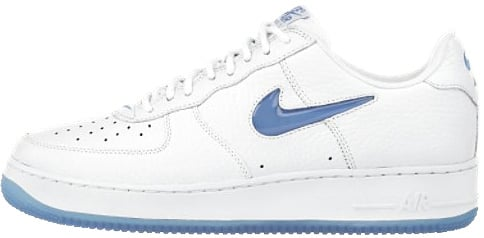 Nike Air Force 1 (Ones) 1997 Low CL White / Blue Spark