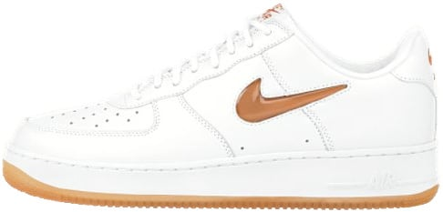 Nike Air Force 1 (Ones) 1997 Low CL White / Safety Orange