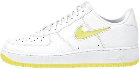 Nike Air Force 1 (Ones) 1997 Low White / Lemon Twist