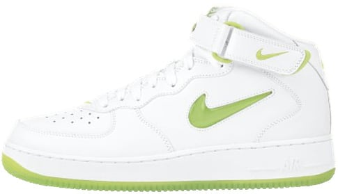 Nike Air Force 1 (Ones) 1997 Mid CL SC White / Mean Green