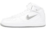 Nike Air Force 1 (Ones) 1997 Mid CL SC White / Metallic Silver - Varsity Red