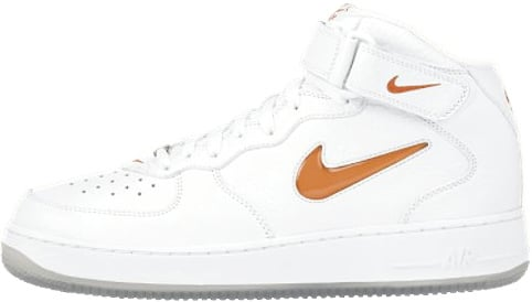 Nike Air Force 1 (Ones) 1997 Mid CL White / Orange Blaze