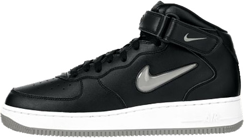 Nike Air Force 1 (Ones) 1997 Mid SC Black / Union Grey