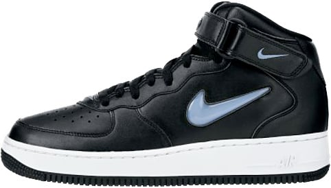 Nike Air Force 1 (Ones) 1997 Mid SC Black / University Blue