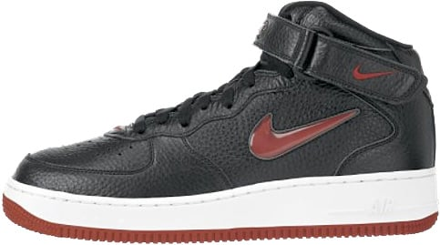 premium selection 25152 11852 Nike Air Force 1 (Ones) 1997 Mid SC Black   Varsity Red
