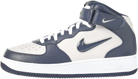 reputable site 8e891 eaf3b nike air force 1 ones 1996 mid sc white smoke navy