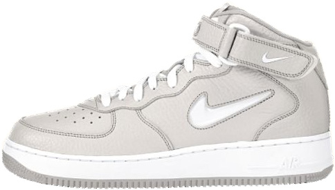 brand new 76481 aaaba ... Nike Air Force 1 (Ones) 1997 Mid SC Light Zen Grey White ...