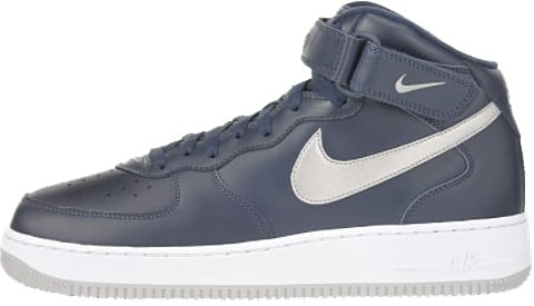 wholesale dealer 7a52d 4e909 Nike Air Force 1 (Ones) 1997 Mid SC Midnight Navy Silver ...