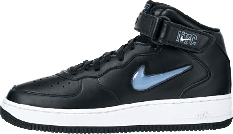 huge selection of 17ee1 ec013 Nike Air Force 1 (Ones) 1997 Mid SC NYC Black   University Blue