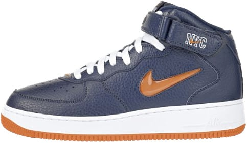 Nike Air Force 1 (Ones) 1997 Mid SC NYC Midnight Navy / Safety ...