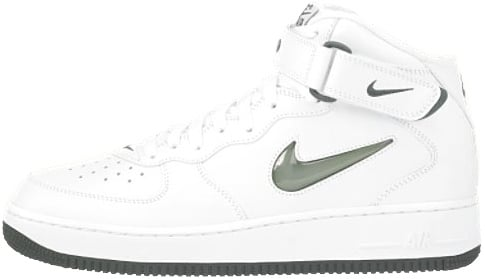 Nike Air Force 1 (Ones) 1997 Mid SC White / Deep Forest