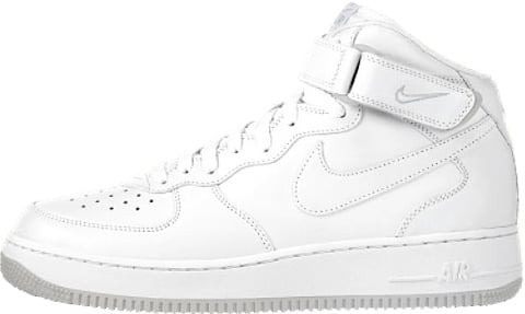 white on white air force ones