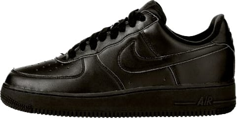 Nike Air Force 1 (Ones) 1998 Low Black / Black