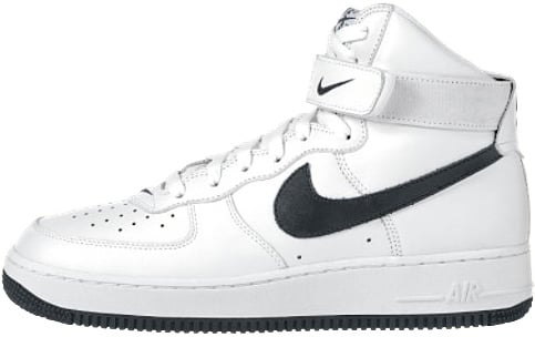 Nike Air Force 1 (Ones) 1998 High True White / Black