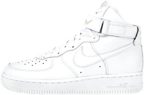 Nike Air Force 1 (Ones) 1998 High True White / True White - Light Zen Grey