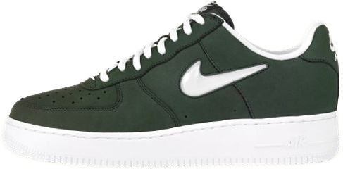 Nike Air Force 1 (Ones) 1998 Low Black Spruce / White