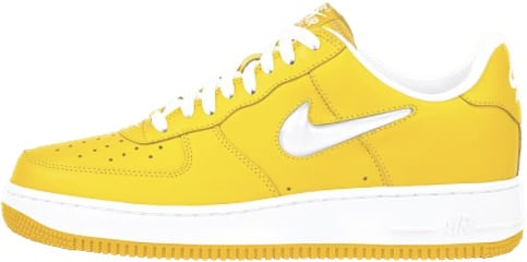 new style 22701 1a718 Nike Air Force 1 (Ones) 1998 Low Goldenrod   White