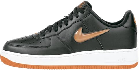 Nike Air Force 1 (Ones) 1998 Low Halloween Black / Safety Orange
