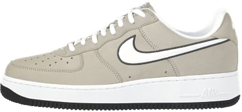 Nike Air Force 1 (Ones) 1998 Low String / White - Obsidian