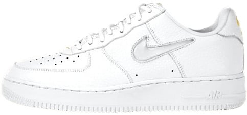 Nike Air Force 1 (Ones) 1998 Low White / White - Gold Leaf
