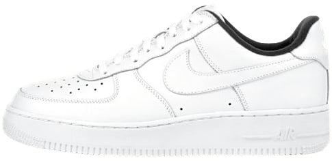 Nike Air Force 1 (Ones) 1998 Low White / White