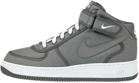Nike Air Force 1 (Ones) 1998 Mid SC Canvas Cool Grey / White