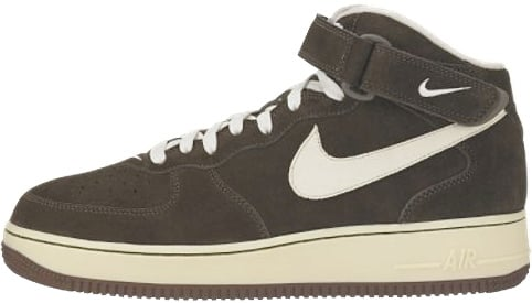 Nike Air Force 1 (Ones) 1998 Mid SC Chocolate / Cream