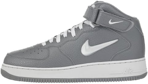 Nike Air Force 1 (Ones) 1998 Mid SC Cool Grey / Metallic Silver