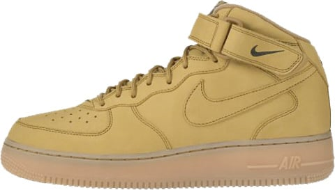 Nike Air Force 1 (Ones) 1998 Mid SC Flax / Flax - Outdoor Green