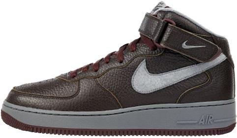 Nike Air Force 1 (Ones) 1998 Mid SC Mahogany / Cool Grey