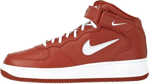Nike Air Force 1 (Ones) 1998 Mid SC Varsity Red / White