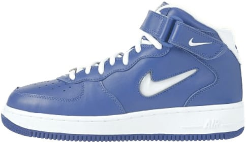 Nike Air Force 1 (Ones) 1998 Mid SC Varsity Royal / White
