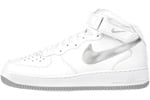 Nike Air Force 1 (Ones) 1998 Mid SJ White / Metallic Silver