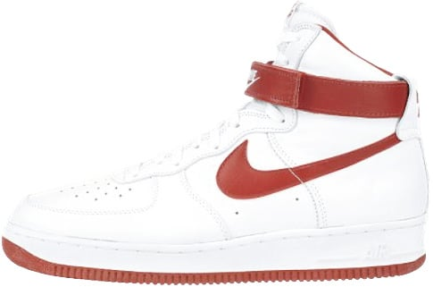 white red air force 1