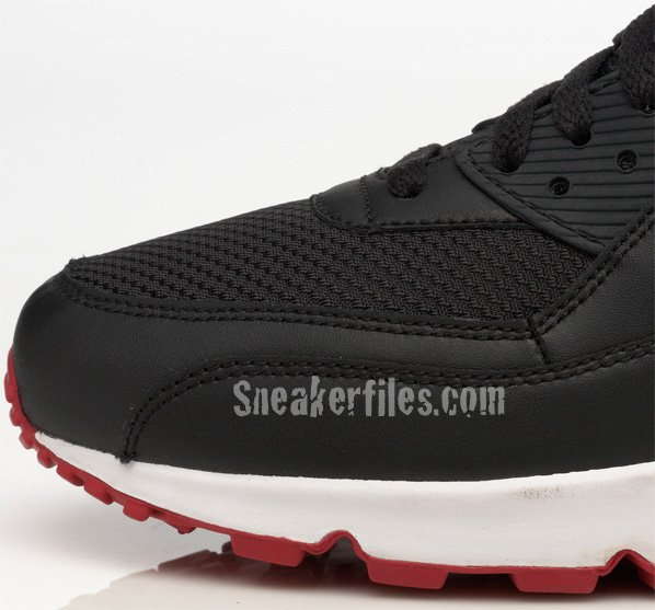 Nike Air Max 90 Black / Red - White Summer 2009