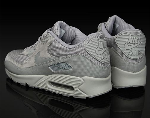 ff1e8429325 Nike Air Max 90 - Gray   Gray