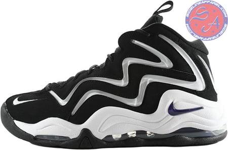 escena Tentación Destello  Nike Air Pippen 1 (I) - Black / White - Varsity Purple | SneakerFiles