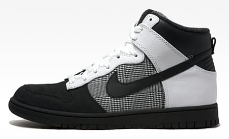 Nike Dunk High Premium - Black / White / Grey