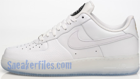 Nike Huarache Air Force 1 White / Ice Spring 2009