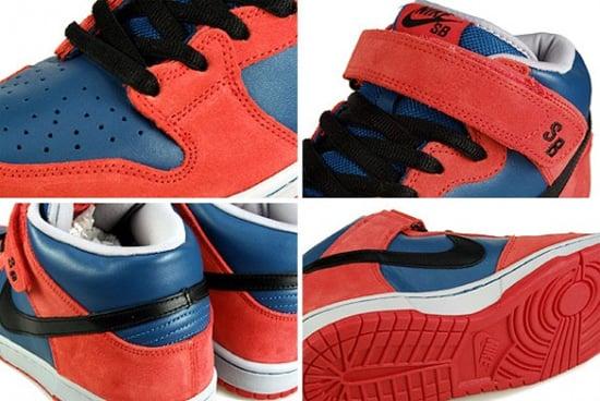 Nike SB Dunk Mid - Spiderman - Marina