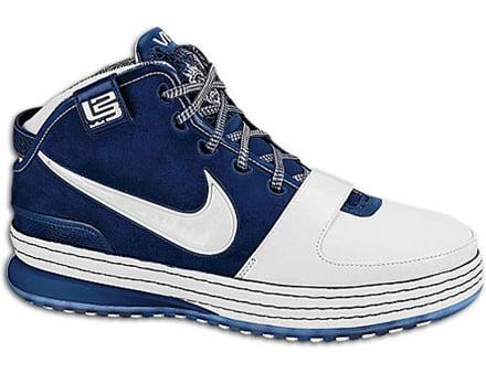fe68a761faa2 Nike Zoom Lebron VI (6) - White   Navy - NY Yankees