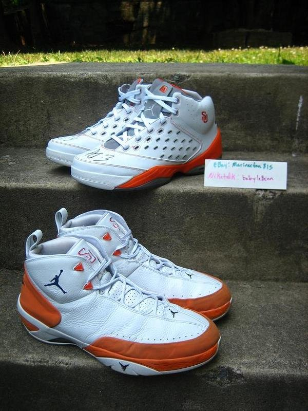 Jordan 5.5 and Melo M3 Mid